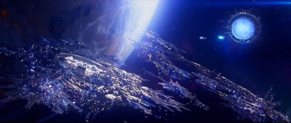 Xenious'Jeva นครลอยฟ้าศูนย์กลางของดวงดาวที่สามารถอยู่อาศัยได้ทั้ง432ดวง