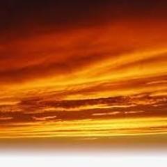Golden sky-cover