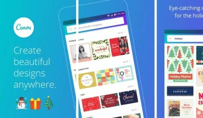 aplikasi photo collage terbaik gratis untuk PC dan Android, Canva