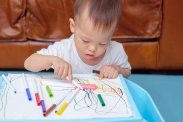 พัฒนาการกล้ามเนื้อมัดเล็กของเด็ก