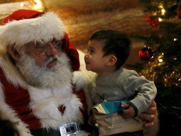 สอนลูกเรื่องซานตาคลอส