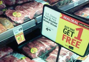ซื้อเนื้อสัตว์ลดราคา
