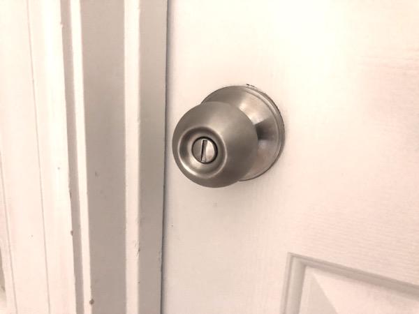 ลูกเผลอล็อคลูกบิดประตู