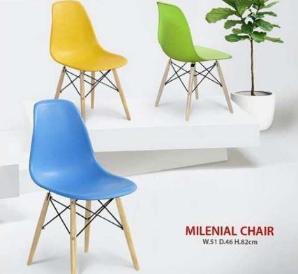 Kursi Cafe Minimalis Kursi Makan Modern Olymplast Milenial Dacey Produkindo