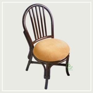 BENDRI Brown Dining Chair Side