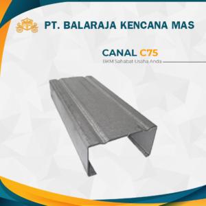 Canal C Galvalum Baja ringan tebal 0.75mm