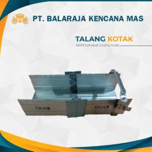 Talang Kotak Baja Ringan / Galvalum Merk GVL