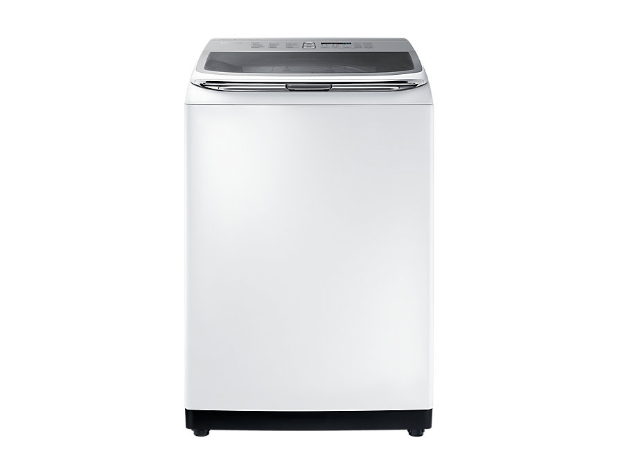SAMSUNG Washing Machine WA18M8700GW with Activ dualwash, 18kg