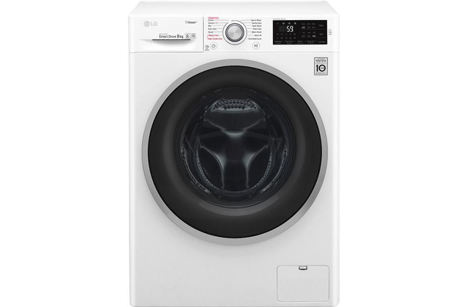 FC1408S4W7 – LG 8kg, 6 Motion Inverter Direct Drive Front Load Washing Machine