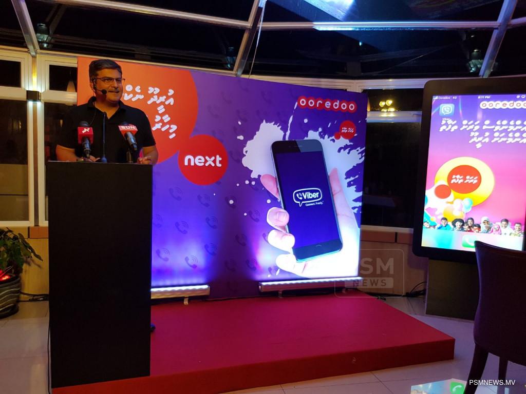 Ooredoo Maldives launches its AI based Ooredoo Next on Viber