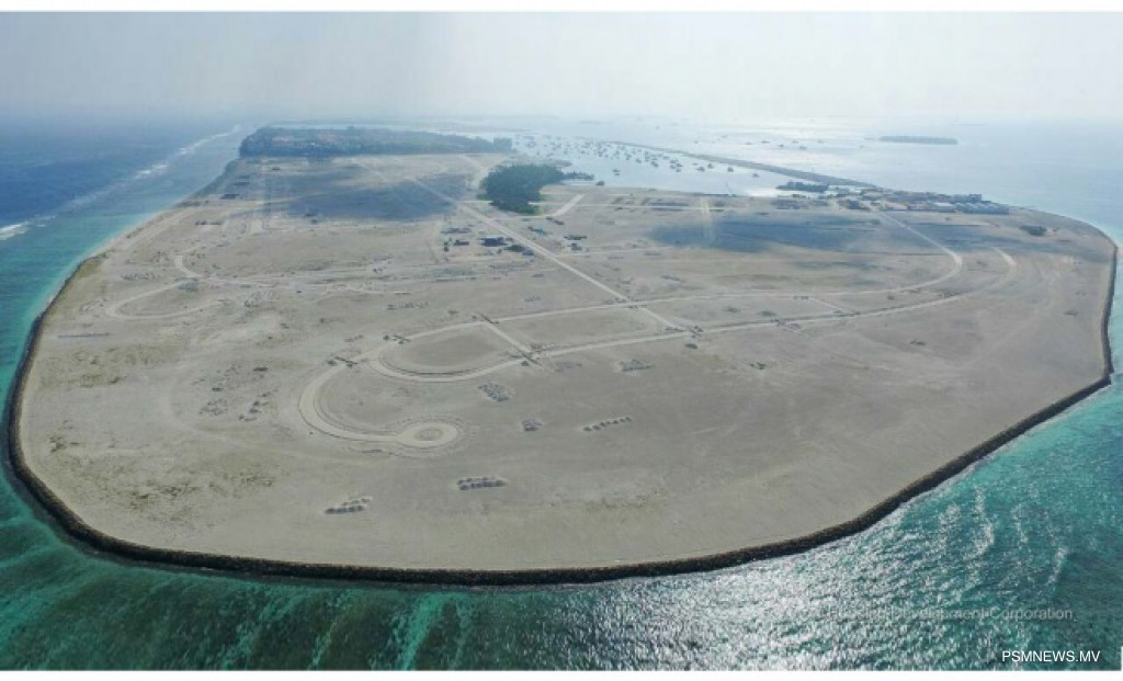 HDC Completes Shoreline Protection Project in Hulhumale'