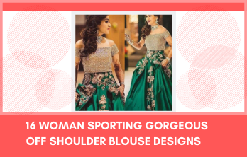 Off-Shoulder Blouse Designs
