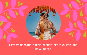 Wedding Saree Blouse Designs