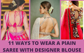 11 Ways To Style A Plain Saree With Designer Blouse Meesho,Illustrator Cs6 Adobe Illustrator Logo Design