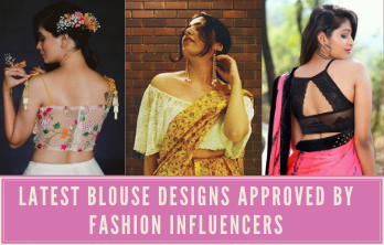 latest blouse Designs Approved by Fashion Influencers