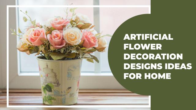 Artificial Flower Decoration Ideas Meesho