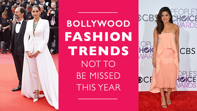 Bollywood Fashion Trends Not To Be Missed This Year