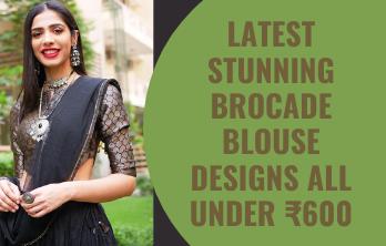 brocade blouse