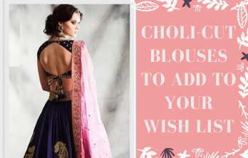 Choli Cut Blouses To Add to your wish list