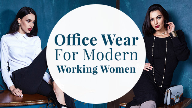 Types Of Office Wear For Modern Working Women In India