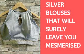 Silver Blouse