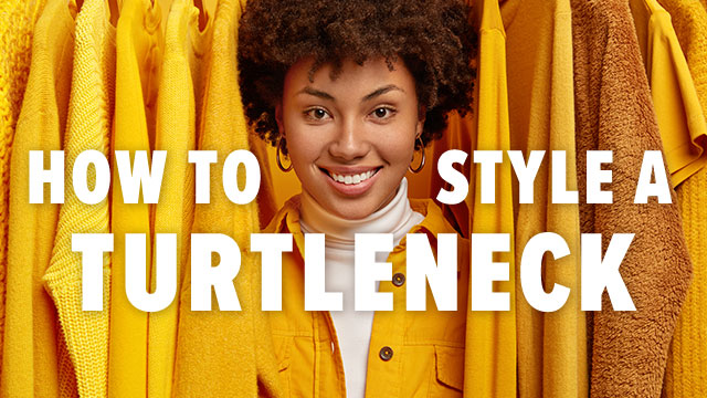 Latest Tips on How to Style a Turtleneck in 2020