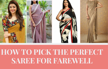 How to Pick The Perfect Saree For Farewell Functions