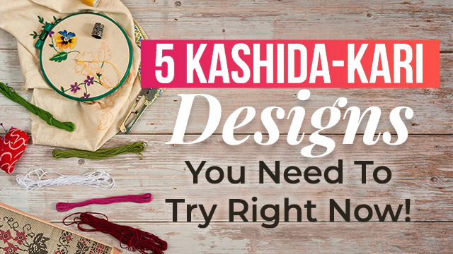 5 Kashida-Kari Designs You Need To Try Right Now!