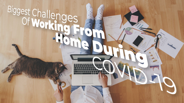Biggest Challenges Of Working From Home During COVID-19