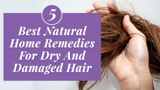 5 Best Natural Home Remedies For Dry And Damaged Hair
