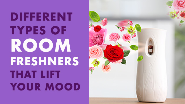 Different Types of Room Freshners That Lift Your Mood