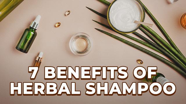 7 Amazing Benefits of Using Herbal Shampoo on Hair