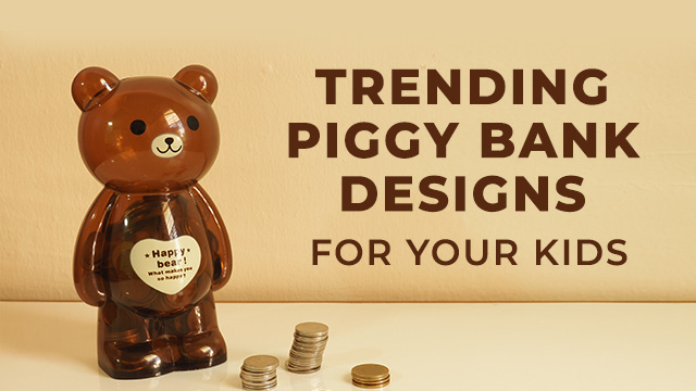 Piggy Bank Designs That Are Trending Among Kids in 2020