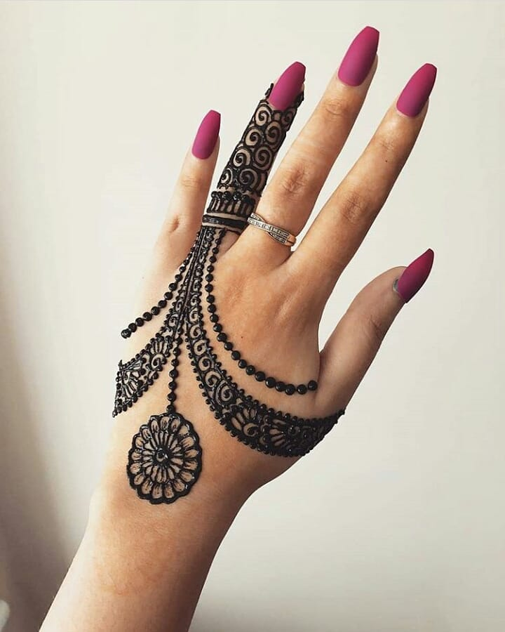 13 Back Hand Mehndi Designs That Will Steal Your Heart Meesho