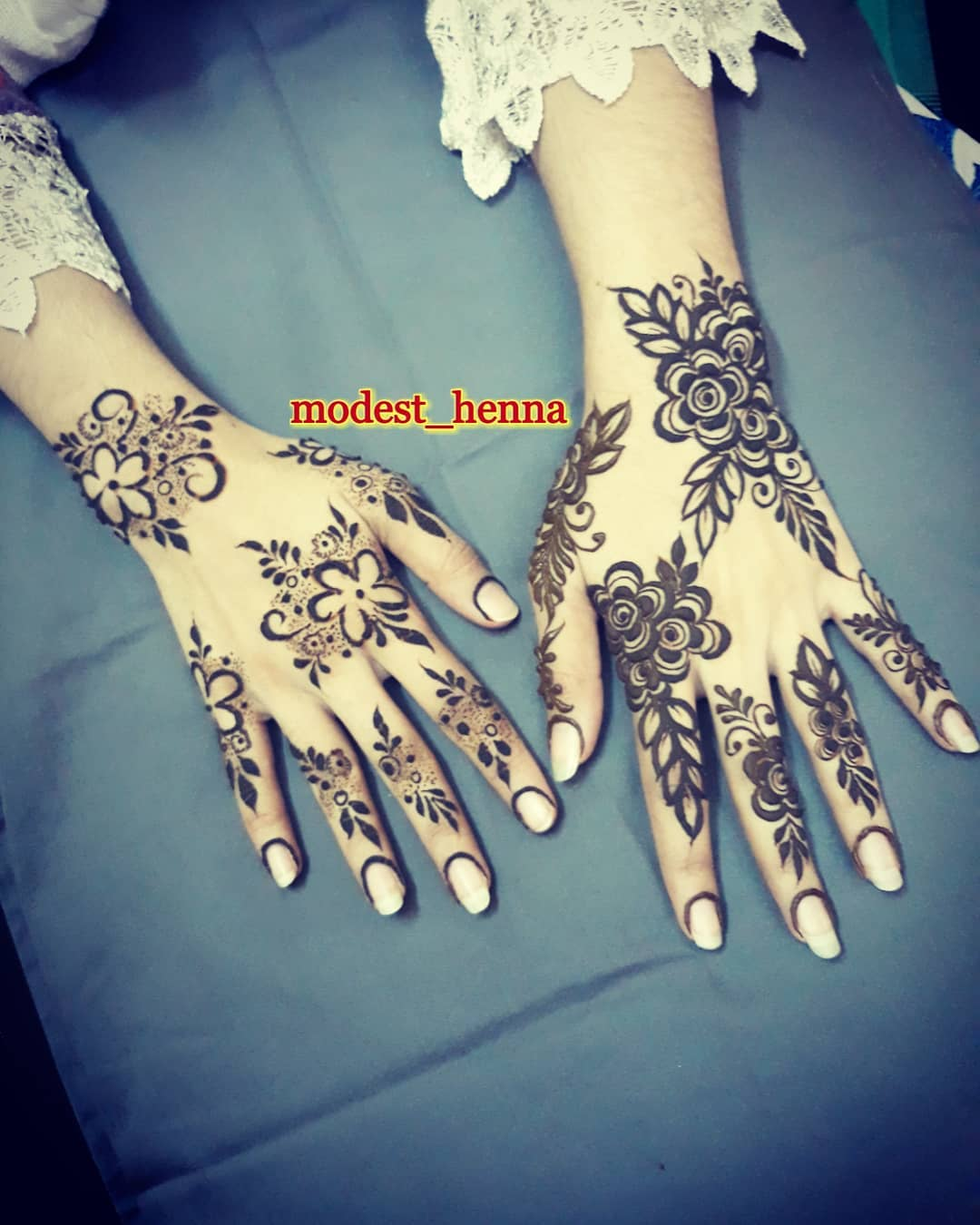 simple arabic arabic stylish modern mehndi design