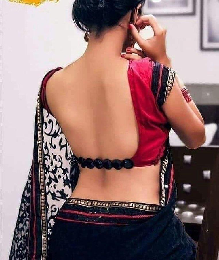 Beadwork Blouse Back Designs