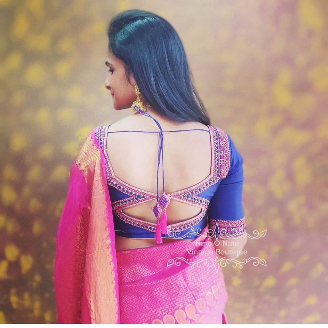 15 Unique Silk Saree Blouse Designs To Help You Stand Out Meesho,Small Home Interior Design Images