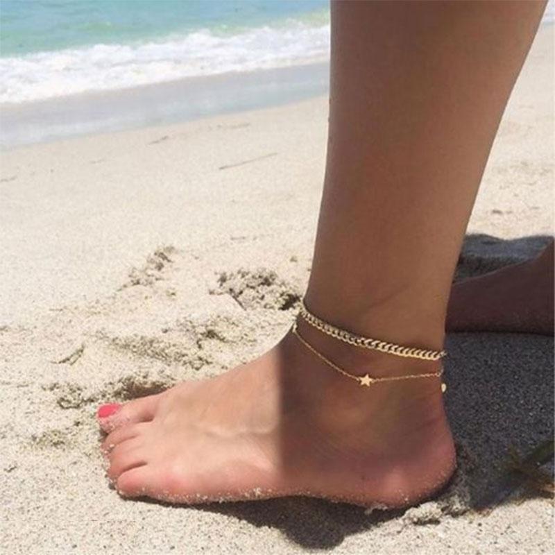 Minimalist Anklets
