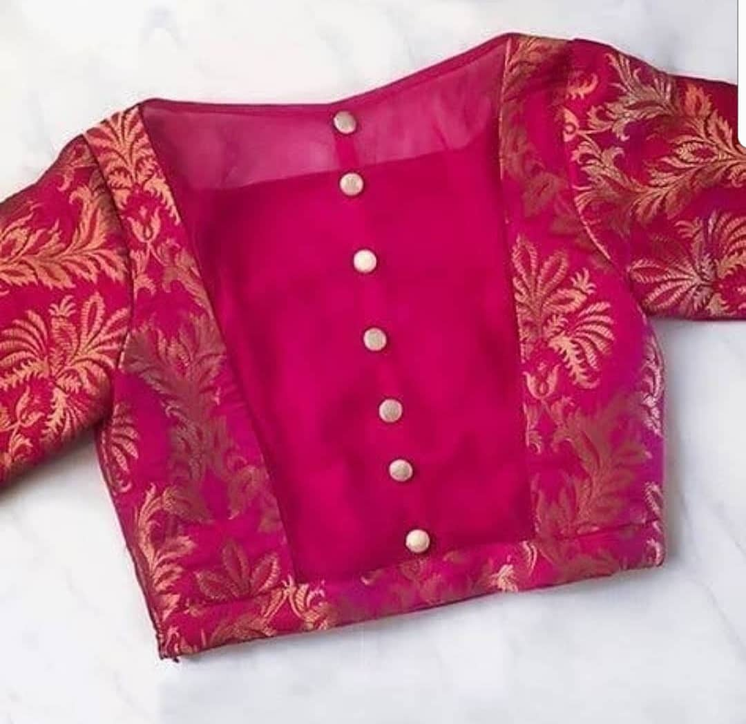 14 Latest Blouse Designs For Back To Check Out In 2020 Meesho