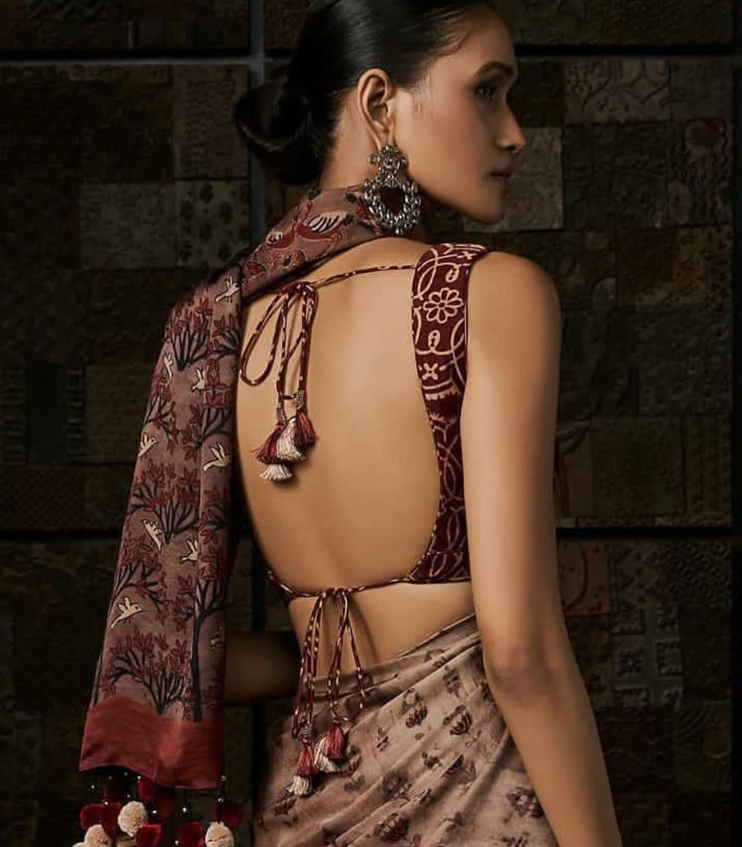 17 Latest Saree Blouse Back Designs With Images For 2020 Meesho,Small Pool House Designs