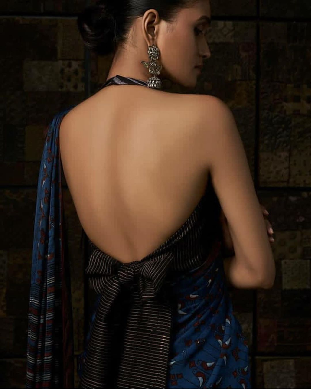 Backless Blouse Back Design
