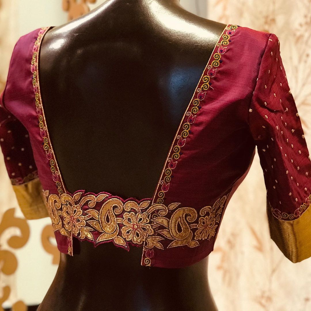 15 Unique Silk Saree Blouse Designs To Help You Stand Out Meesho