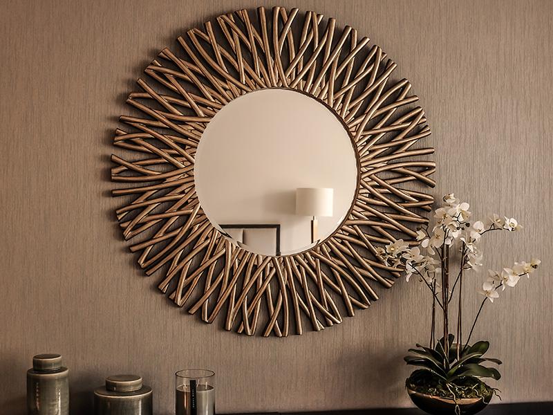 Trending Wall Mirror Designs Meesho
