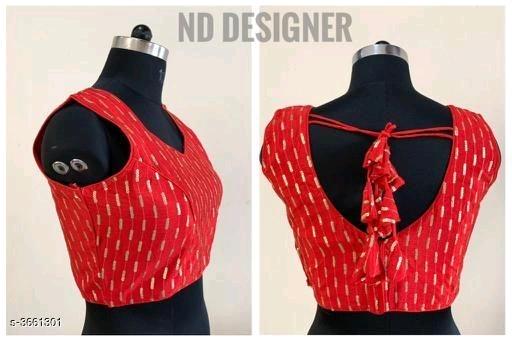 V neck blouse design