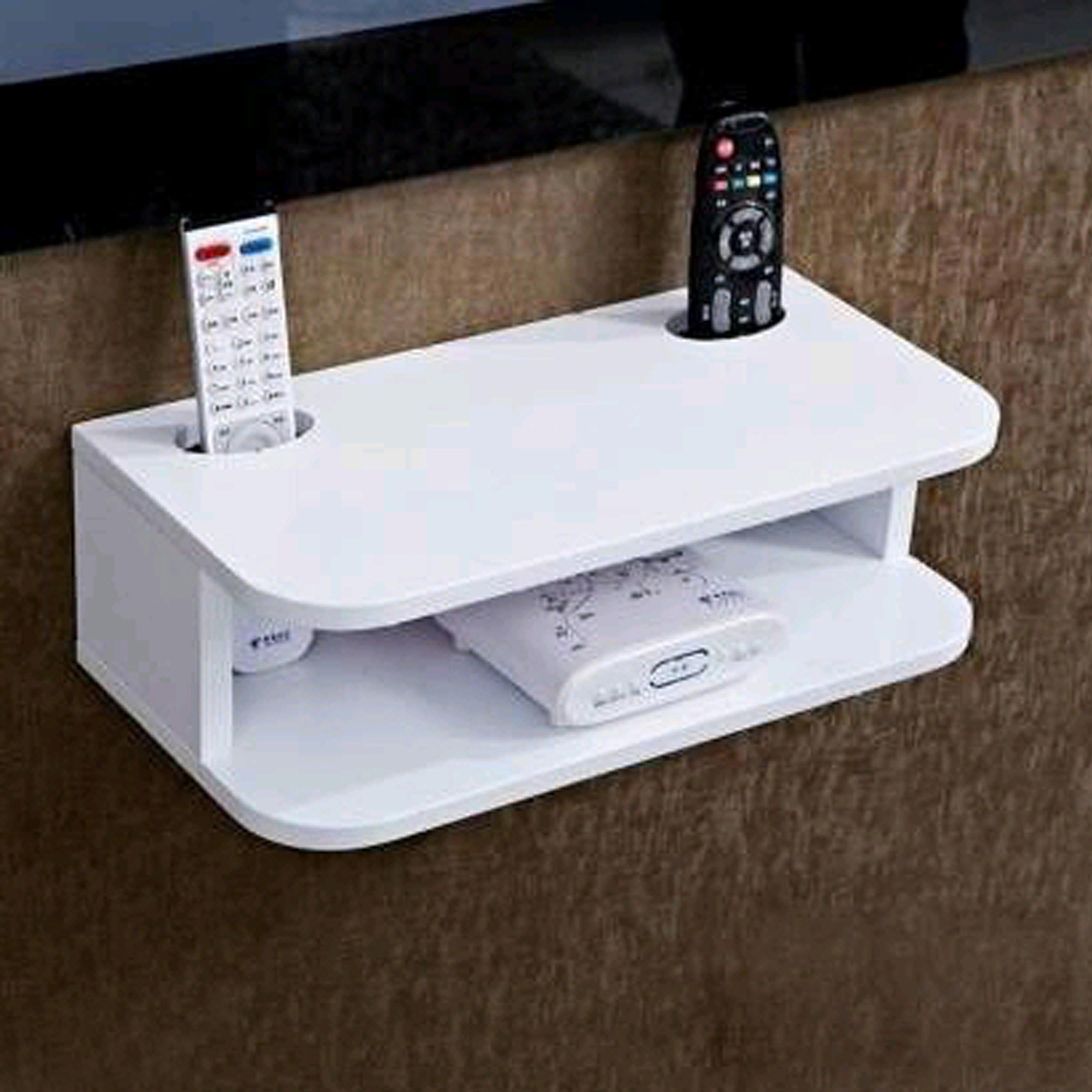 Dual Remote Holder Shelf