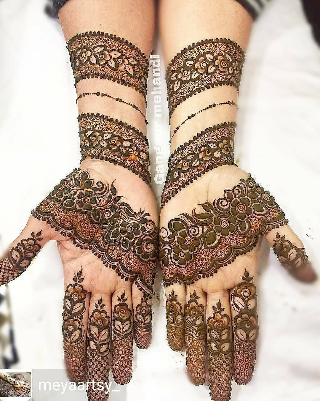 110 Simple And Easy Mehendi Designs For Every Occasion And Events Meesho