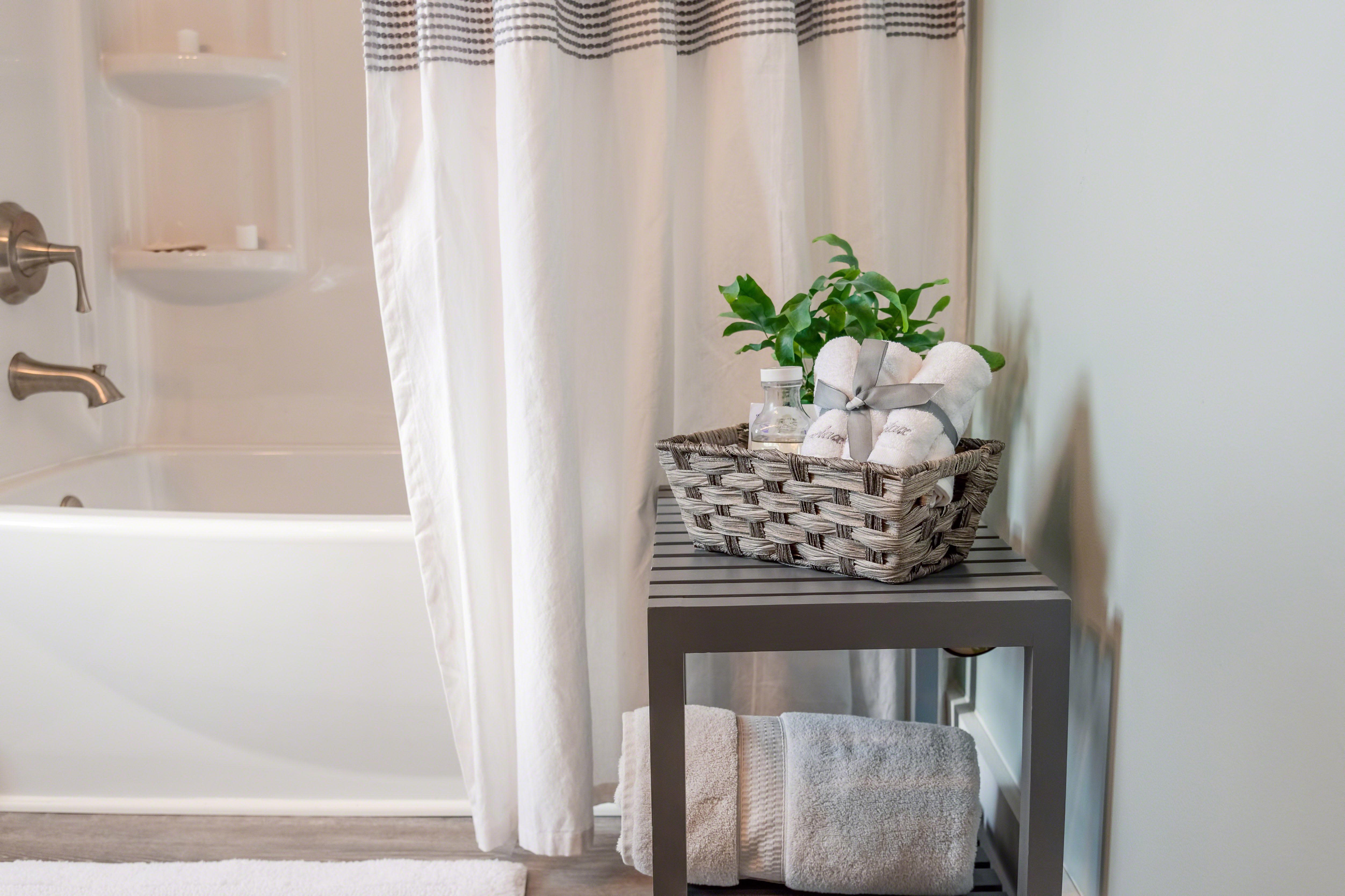 Microfiber Shower Curtains