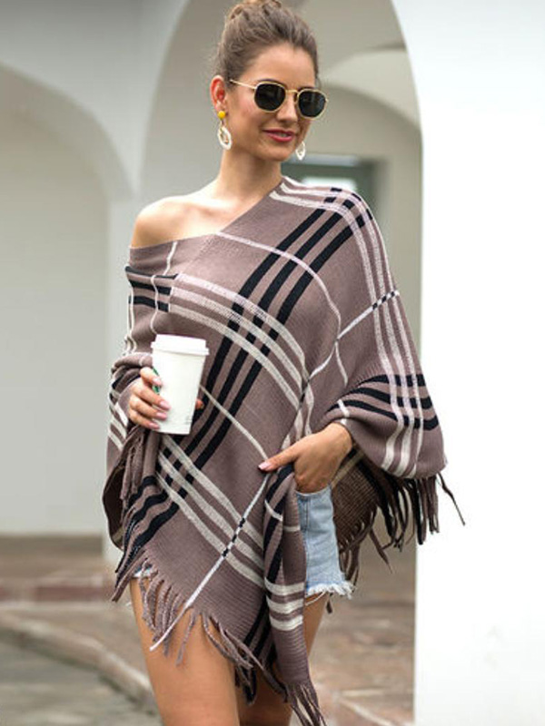 Poncho Top With Shorts
