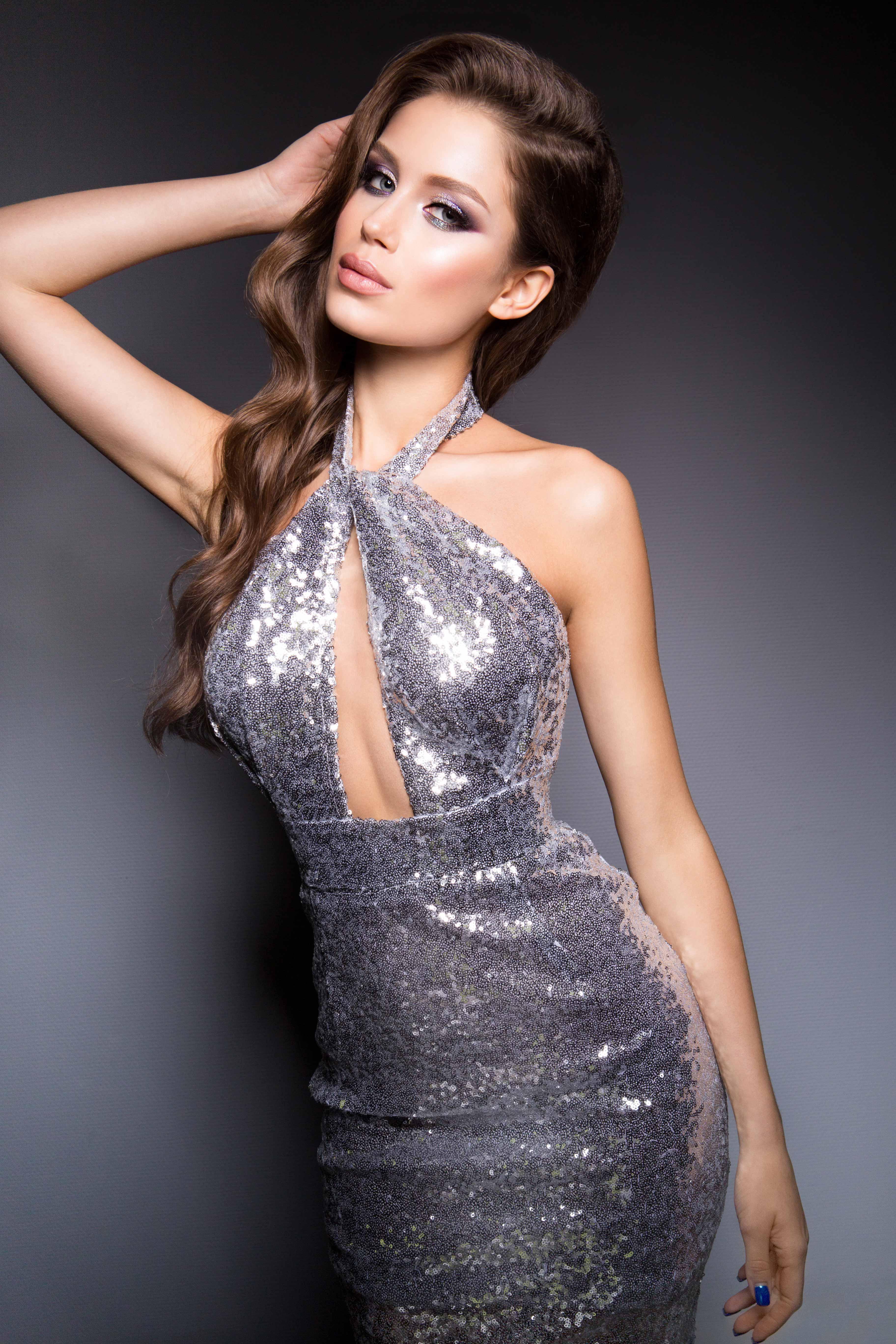 Paillette Sequin Knit Tank Dress   Dresses, Tank dress