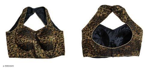 Halter neck meesho blouse back design